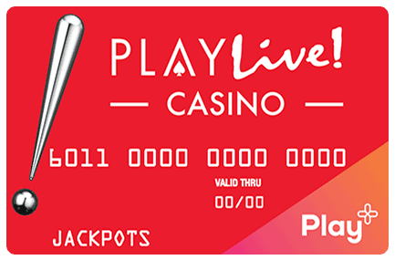 PlayLive! Casino card