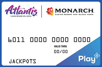 Monarch Rewards card