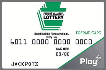 PA Lottery card