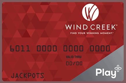 Wind Creek card