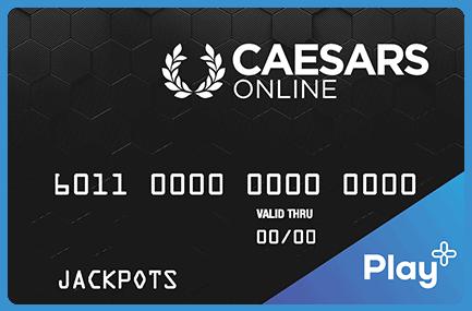 Caesars Online card